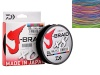 Плетёнка DAIWA J-Braid X8 Multicolor 0.18мм 26.5lb 150м